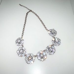 Francesca's Diamond Statement Necklace